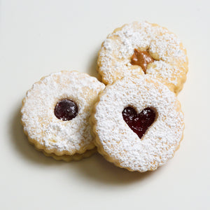 Kosher Linzer Cookies