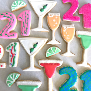 21st Birthday Cookie Gift Package