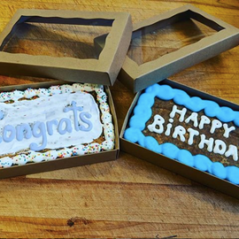 Gift Cookie Bar Congrats Happy Birthday