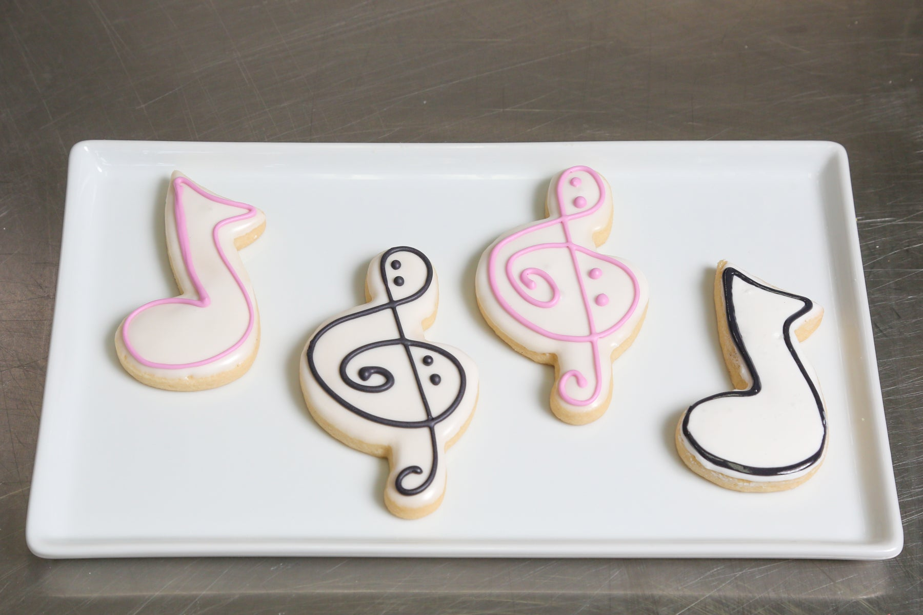Music Notes Cookie