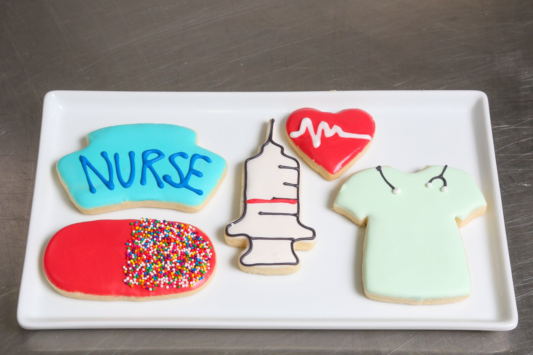 Nurse Custom Cookie