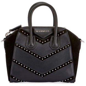 GIVENCHY Small Antigone Bag in Grained Leather