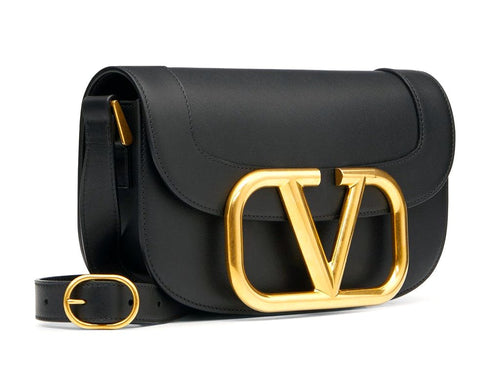 VALENTINO - SUPERVEE CALFSKIN CROSSBODY BAG