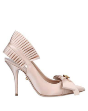 Load image into Gallery viewer, Nude Fausto Puglisi Pump