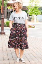 Load image into Gallery viewer, Melinda Midi Skirt