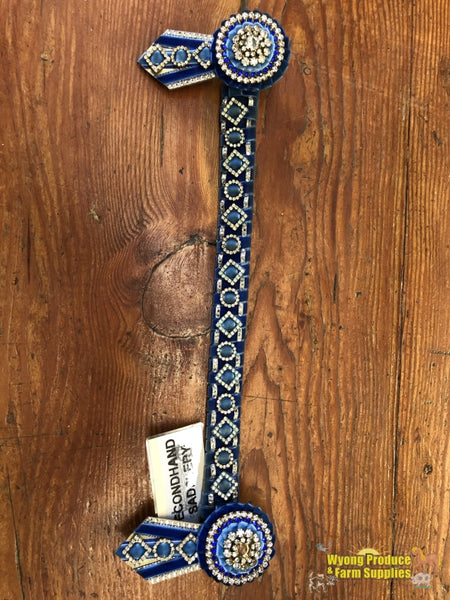 Bling Browband 15.5 Blue (212859)