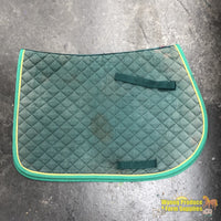 Eg Saddlecloth Full Green (200476)