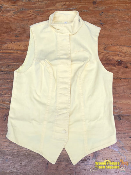 Ladies Sleeveless Ratcatcher Competition Shirt. Size 8