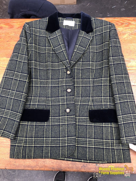 Ladies Tweed Jacket And Skirt Lead Outfit Size 14 (Wpj261)
