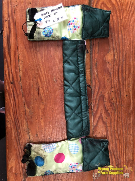 Padded Browband Cover 17 Green (212864)