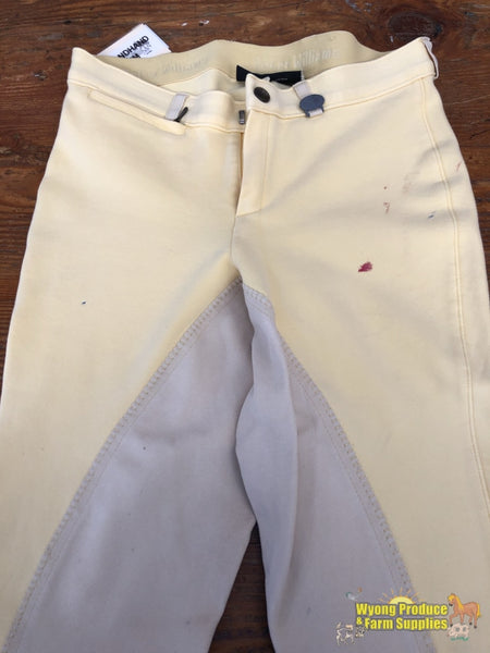 Peter Williams Jodhpurs Kids 14 Banana (200239)