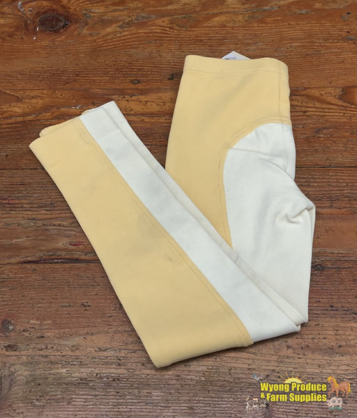 Pull On Jodhpurs Kids 24 Banana (200235)