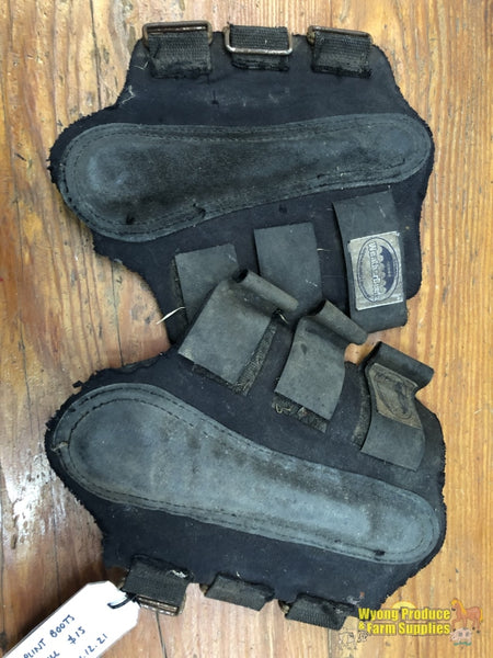 Splint Boots Full Black (212921)