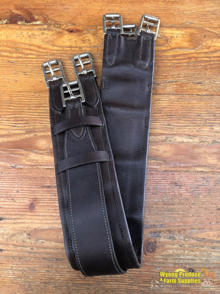 Wagners 3 Buckle Girth 33/84Cm Brown (212812)