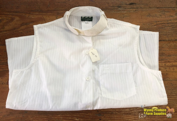 Windsor Sleeveless Shirt Ladies 10 White (212127)