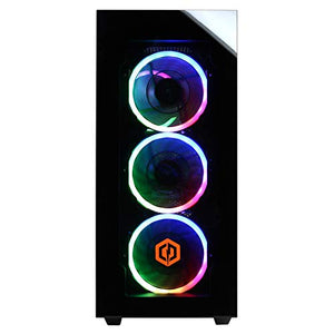 CyberpowerPC Gamer Supreme Liquid Cool Gaming PC, Intel Core i7-9700K 3.6GHz, NVIDIA GeForce RTX 2070 Super 8GB, 16GB DDR4, 1TB PCI-E NVMe SSD, WiFi Ready & Win 10 Home (SLC8260A2, Black)