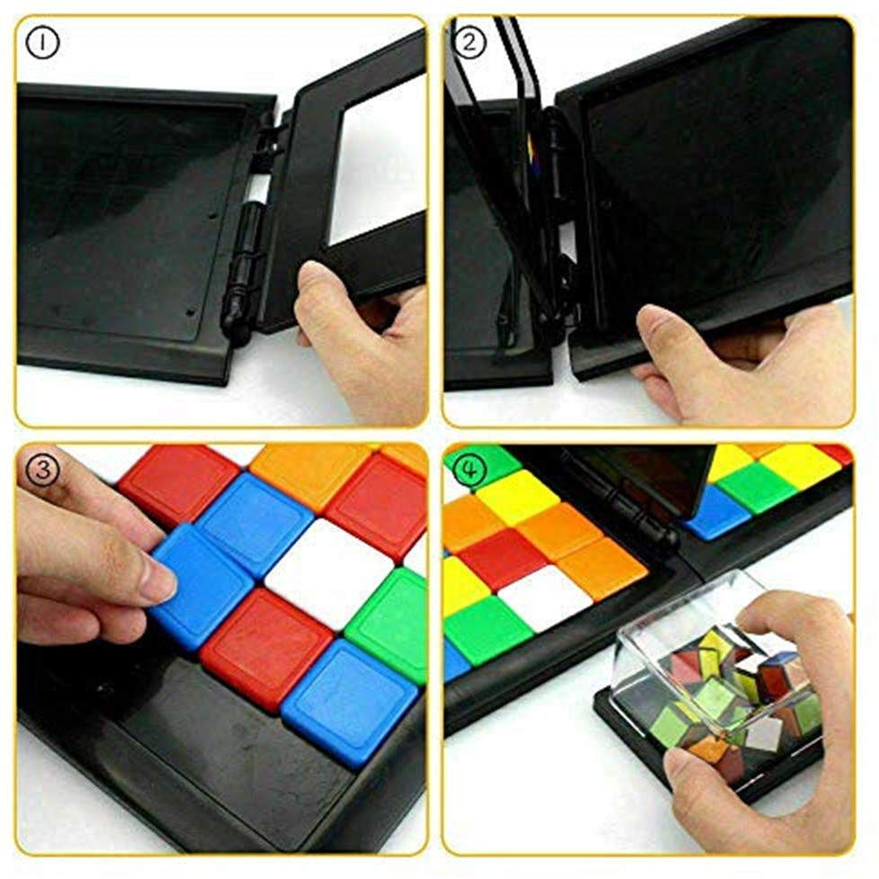 3D Puzzle Race Cube Board Game