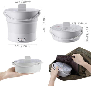 FOLDABLE ELECTRIC TRAVEL HOT POT