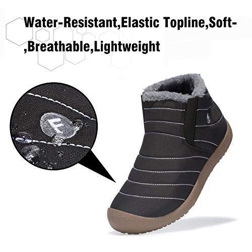 Waterproof Unisex Fur Lined Boots