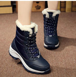 2019 Waterproof Winter Women Snow Boots