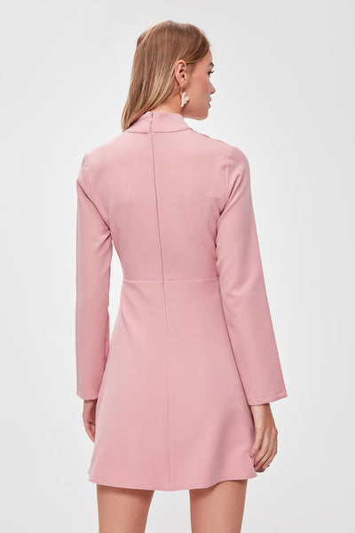 Aria Dress Blush