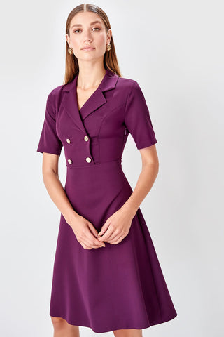 Deborah Dress Purple