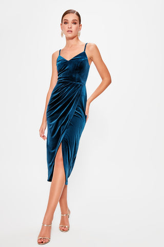 Fallon Dress Blue