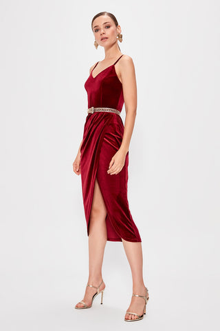 Fallon Dress Red