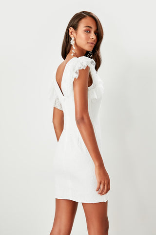 Marianna Dress White