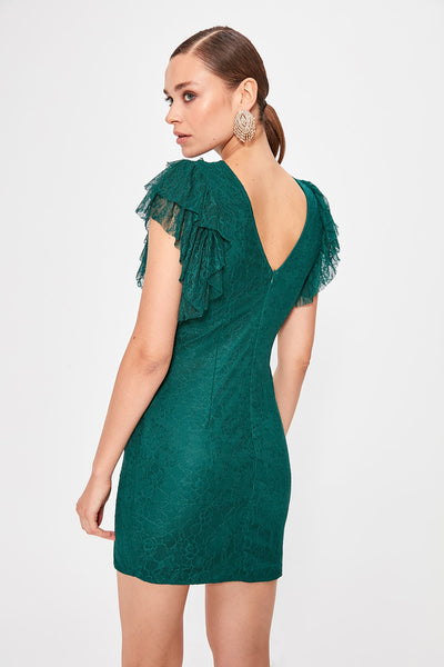 Marianna Dress Green