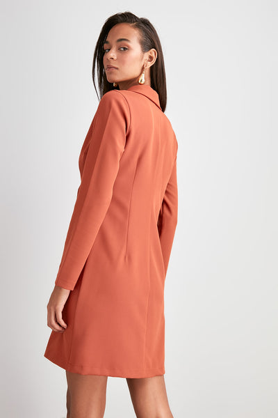Nilay Camel Dress