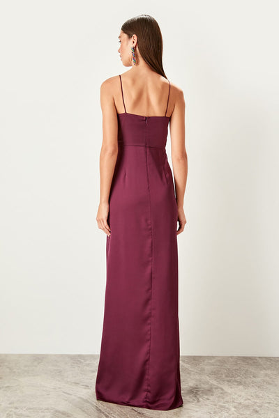 Nora Dress Burgundy