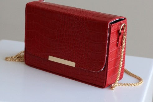 Paris bag red