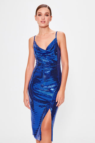 Rita Blue Sequin