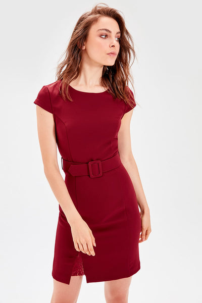 Rubi Dress Burgundy