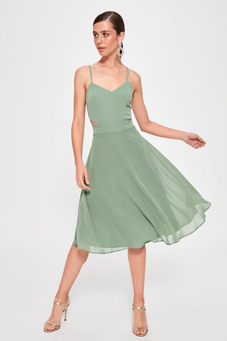 Shelby Dress Green