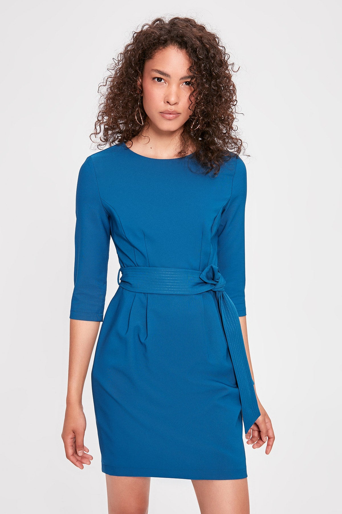 Sophia Dress Blue