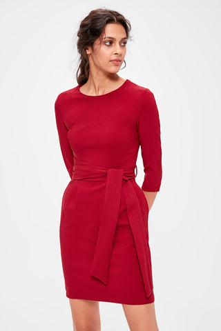 Sophia Dress Red