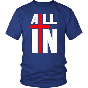 "Unisex ""ALL IN"" Tee - (5 Colors)"