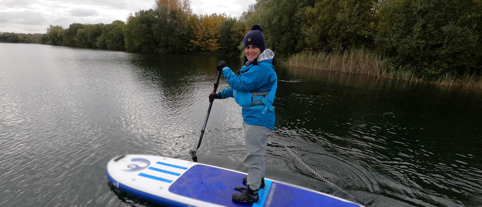 Paddle Boarding throughout Autumn and Winter