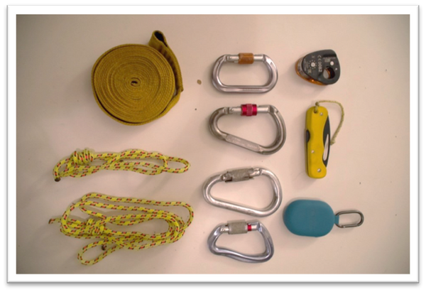 PFD rescue kit contents