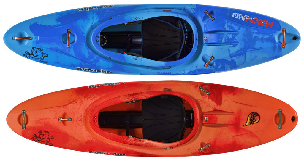 Paul's Boats of choice: Pyranha Machno and Burn 3