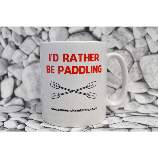 CKS (I'd Rather be Paddling) Mug