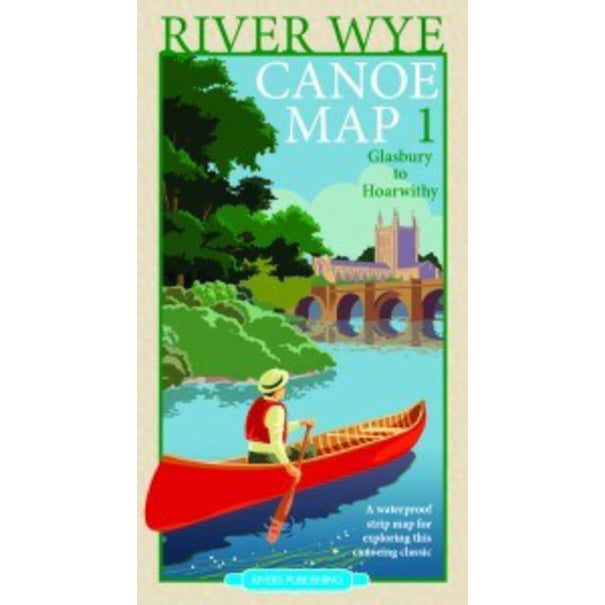 River Wye Canoe Map One