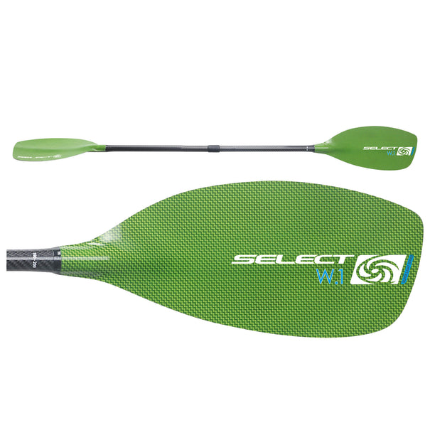 Select W1 Kevlar/Carbon Paddle - Bent Shaft