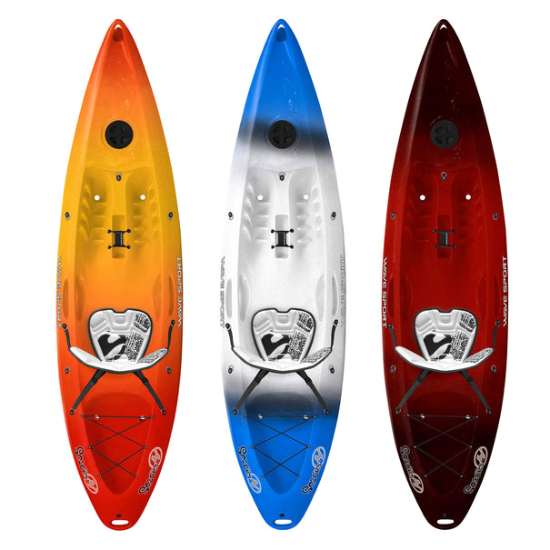 Wave Sport Scooter Sit on Top Kayak - Whiteout