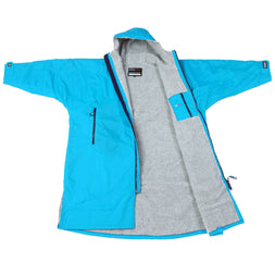 Dryrobe Sky-Blue Long Sleeved Changing Robe