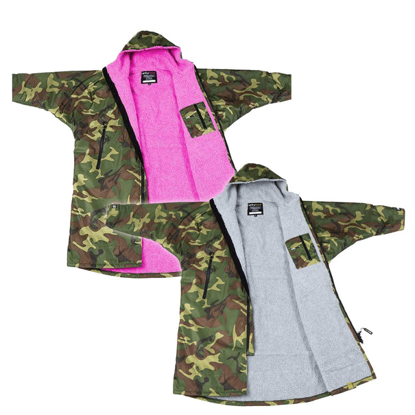 Dryrobe Camo Long Sleeved Changing Robe