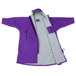 Dryrobe Purple Long Sleeved Changing Robe