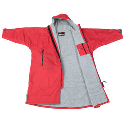 Dryrobe Red Long Sleeved Changing Robe